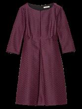 Bild von Kleid mit Jacquard-Muster