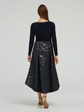 Image sur Robe de soirée motif jacquard