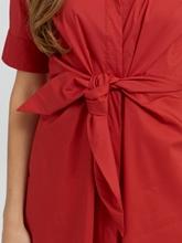 Image sur Robe chemisier avec noeud