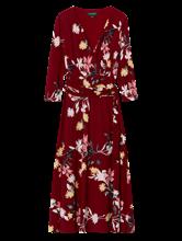 Bild von Kleid in Wickeloptik mit Print