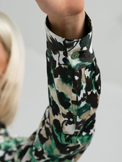 Image sur Robe avec imprimé fleuri DAFLORA