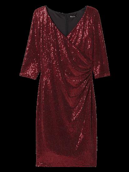 Image sur Robe à paillettes cache-coeur