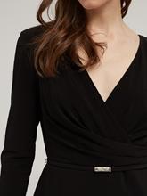 Image sur Robe cache-coeur avec ceinture