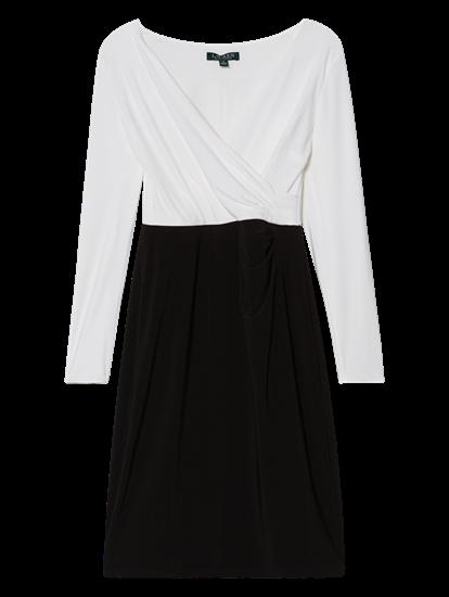 Bild von Kleid in Wickeloptik