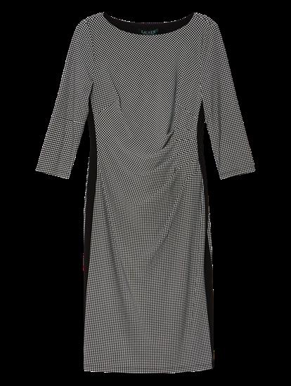 Image sur Robe motif pied-de-poule