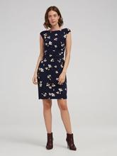 Image sur Kleid mit Blumen-Print