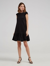 Bild von Jersey Kleid mit Volant