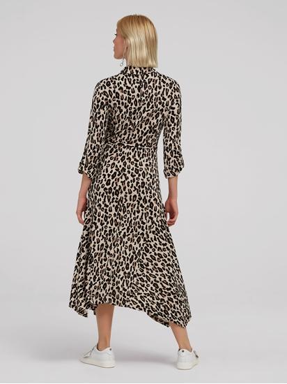 Image sur Robe avec imprimé léopard et ceinture