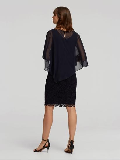 Bild von Kleid aus  Material-Mix mit Spitze