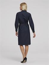 Bild von Blusenkleid aus Denim mit Bindegürtel