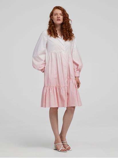 Bild von Blusenkleid mit Batik Färbung