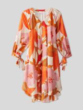 Image sur Robe en soie avec imprimé floral