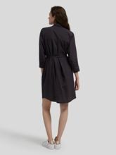 Image sur Robe chemisier avec ceinture en tissu SHAYNA