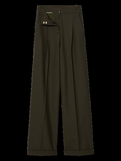 Image sur Jupe-culotte à plis