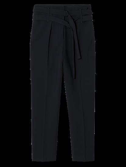 Bild von Hose mit zwei Gürteln und Bundfalten