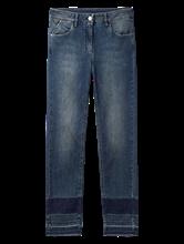 Bild von Jeans im Skinny Fit mit offenem Saum