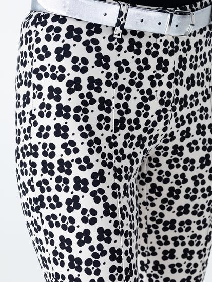Image sur Pantalon longueur cheville imprimé