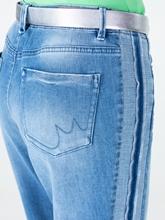 Bild von Jeans aus zweifarbigem Denim