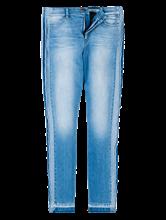 Image sur Jeans denim bicolore