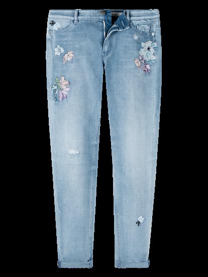 Bild von Jeans mit Stickerei