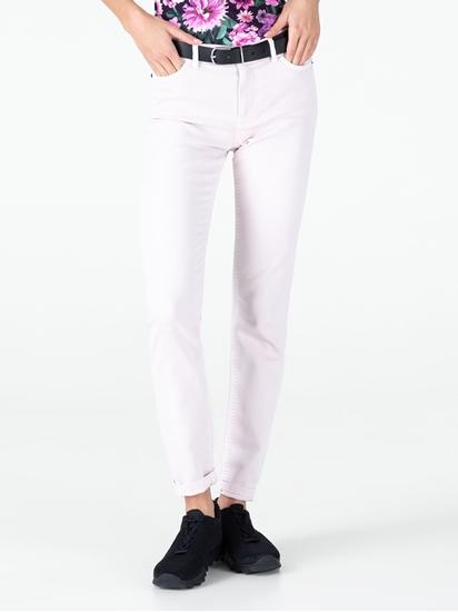Bild von Destroyed Skinny Jeans mit Print