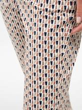 Image sur Pantalon imprimé raccourci