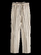 Image sur Pantalon lin à rayures