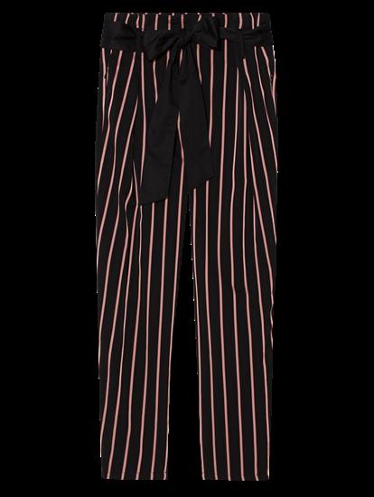 Bild von Hose mit Streifen und Schleife