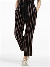 Image sur Pantalon à rayures à nouer