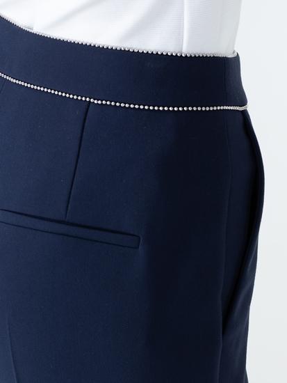 Image sur Pantalon business avec perles à la taille