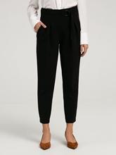 Image sur Pantalon business avec ceinture à nouer