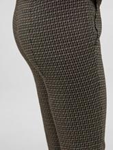Image sur Pantalon avec motif pied-de-poule