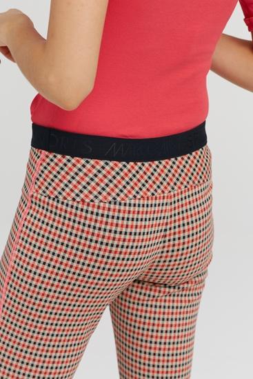 Image sur Pantalon à carreaux