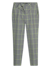 Image sur Pantalon motif à carreaux