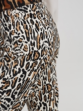 Image sur Pantalon jersey imprimé léopard