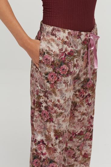 Bild von Loungewear-Hose mit Blumen-Print