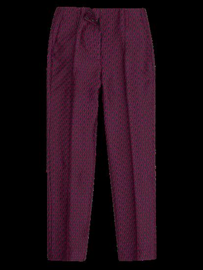 Bild von Hose mit Jacquard-Muster