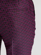 Image sur Pantalon avec motif jacquard