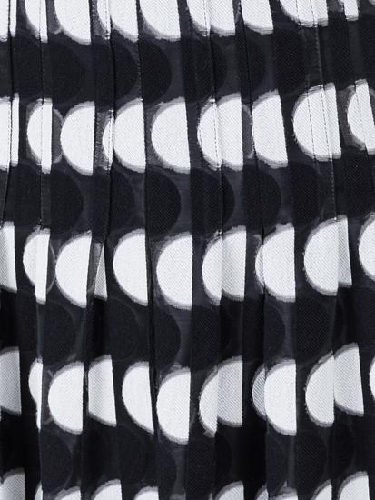 Bild von Jupe mit Plissee und Punkten