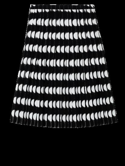 Image sur Jupe plissée à pois