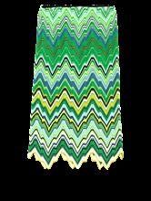 Bild von Strickjupe mit Zickzack-Muster