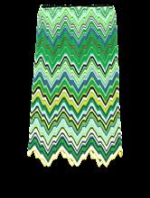 Image sur Jupe maille motif zigzag