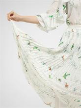 Bild von Jupe mit Plissee und Print