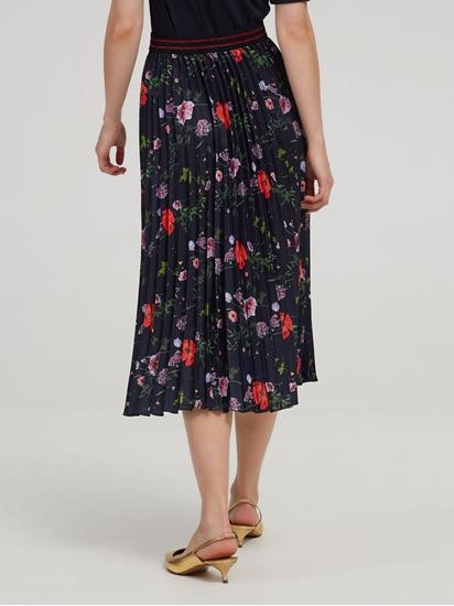 Image sur Jupe avec plissé et imprimé floral