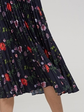 Bild von Jupe mit Plissee und Blumenprint