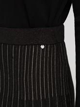 Image sur Jupe maille plissée et cordon de serrage