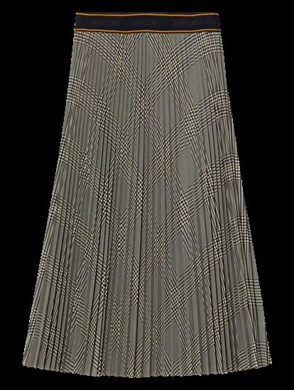Image sur Jupe plissée à carreaux