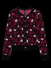 Image sur Cardigan imprimé fleurs