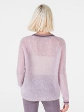 Bild von Pullover aus Mohair-Wolle mit Lurex