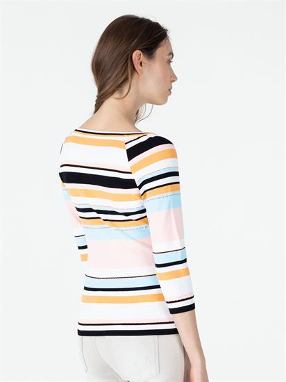 Bild von Pullover mit Streifen